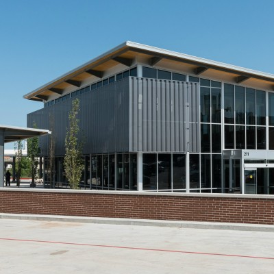 New Transit Center in Springfield, opened May 2016.