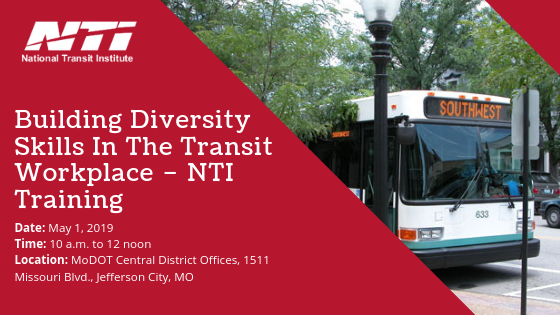 Building Diversity Skills In The Transit Workplace – NTI Training