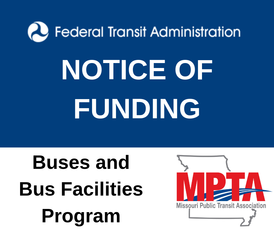 NOTICE OF FUNDING Buses