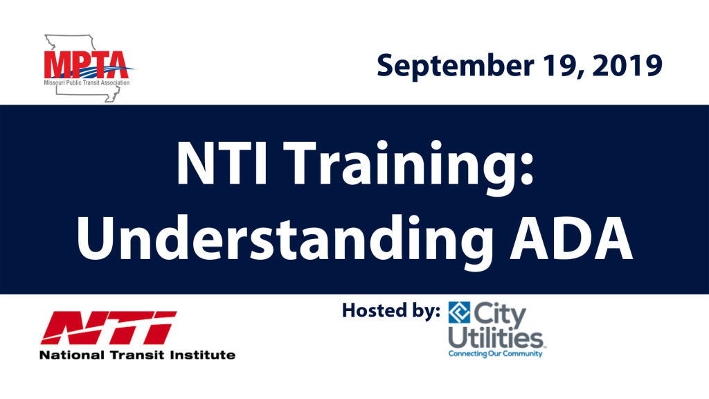 National Transit Institute training_ Understanding ADA