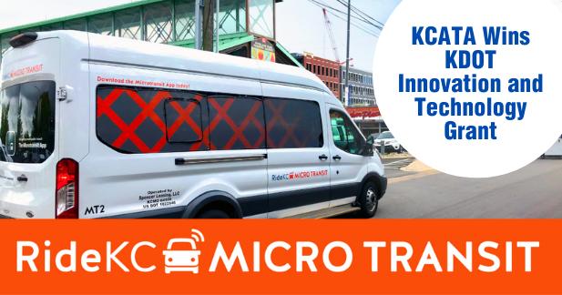 KCATA Wins KDOT Innovation and Technology Grant